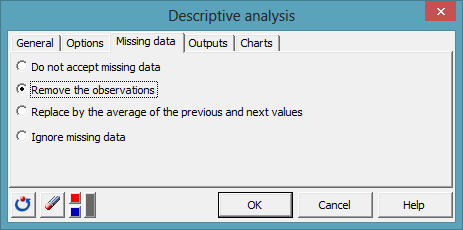 time series desc dialog box 6